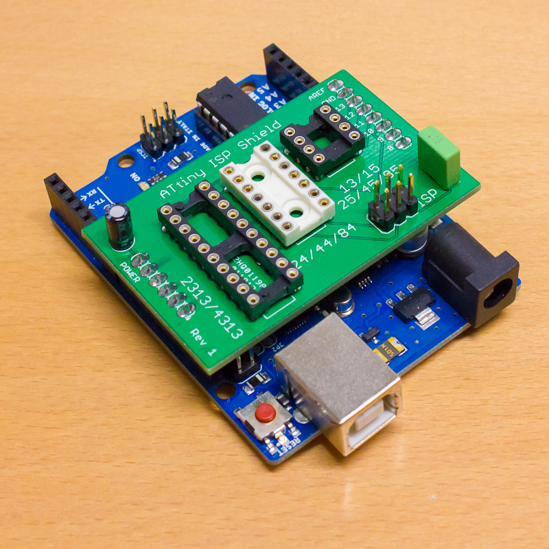 ATtiny ISP Arduino Shield