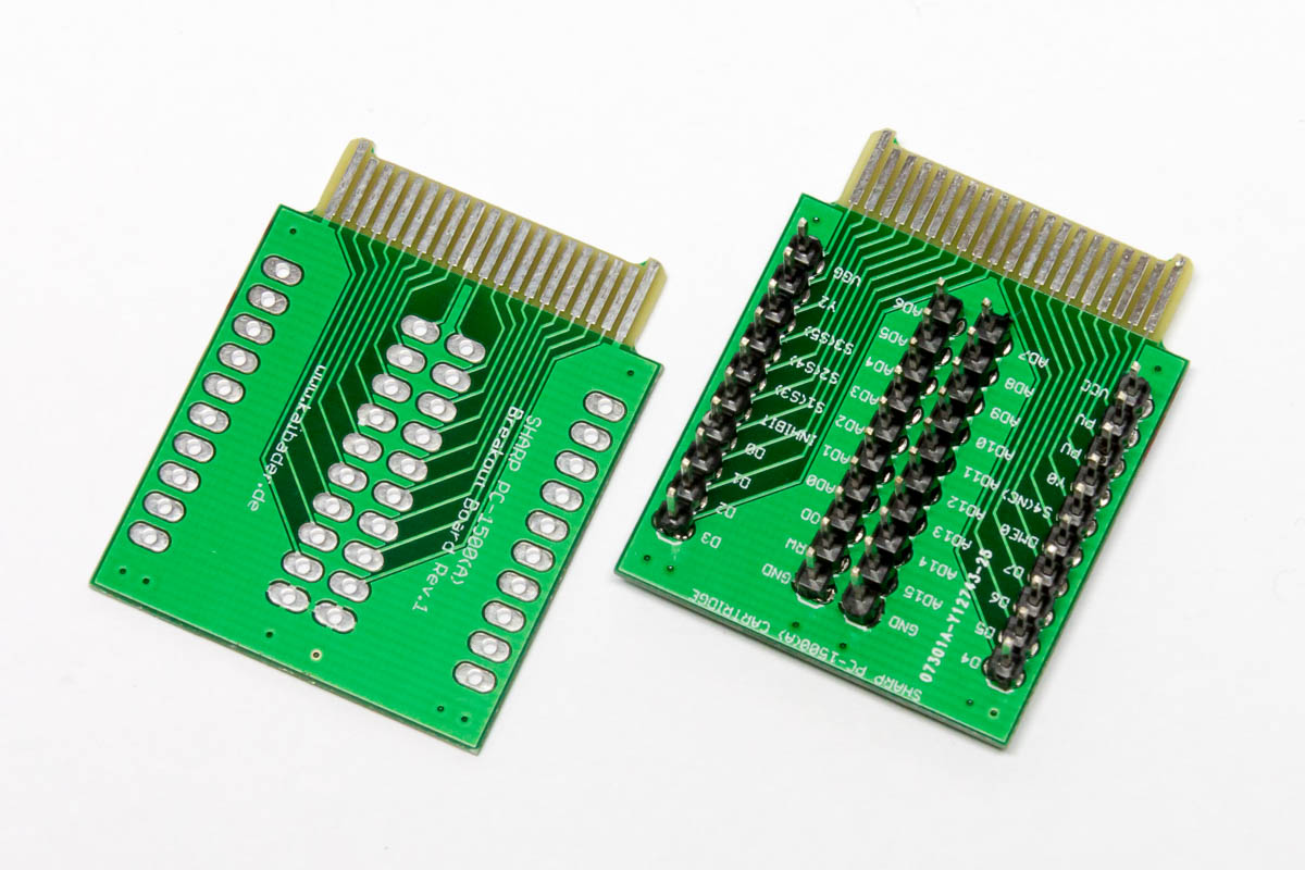 Sharp Debug Cartridge PCB