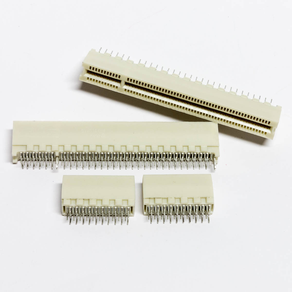 PCI slots cut apart for application in cartridge adapters