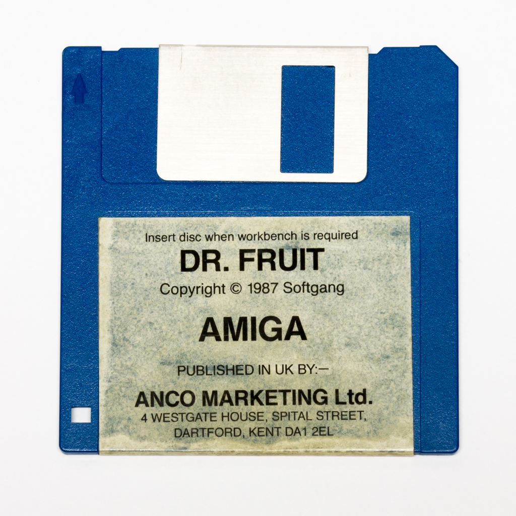 Dr Fruit Floppy Disk