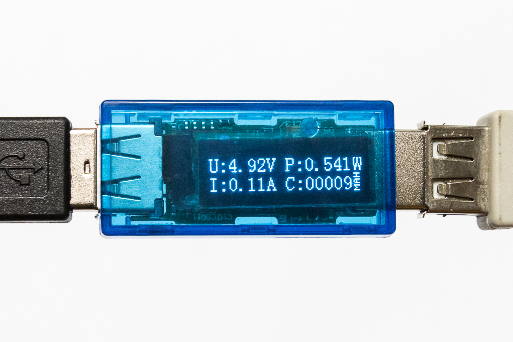 USB Voltage and Current Detector