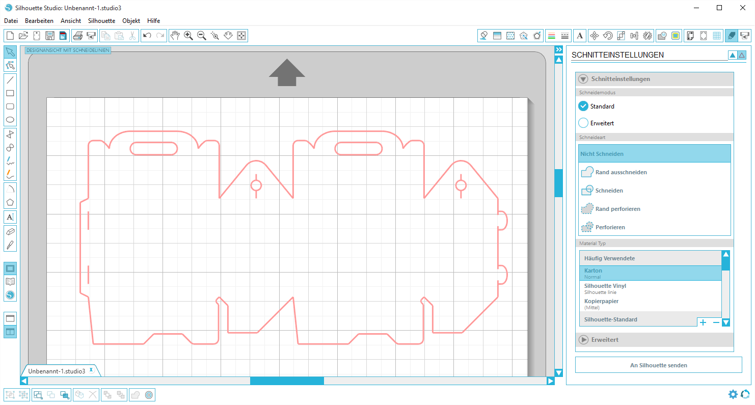 Plotting DXF File with Silhouette Studio