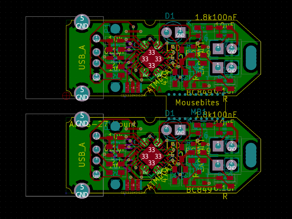 I made it: I switched from Eagle to KiCad to make my PCB designs…