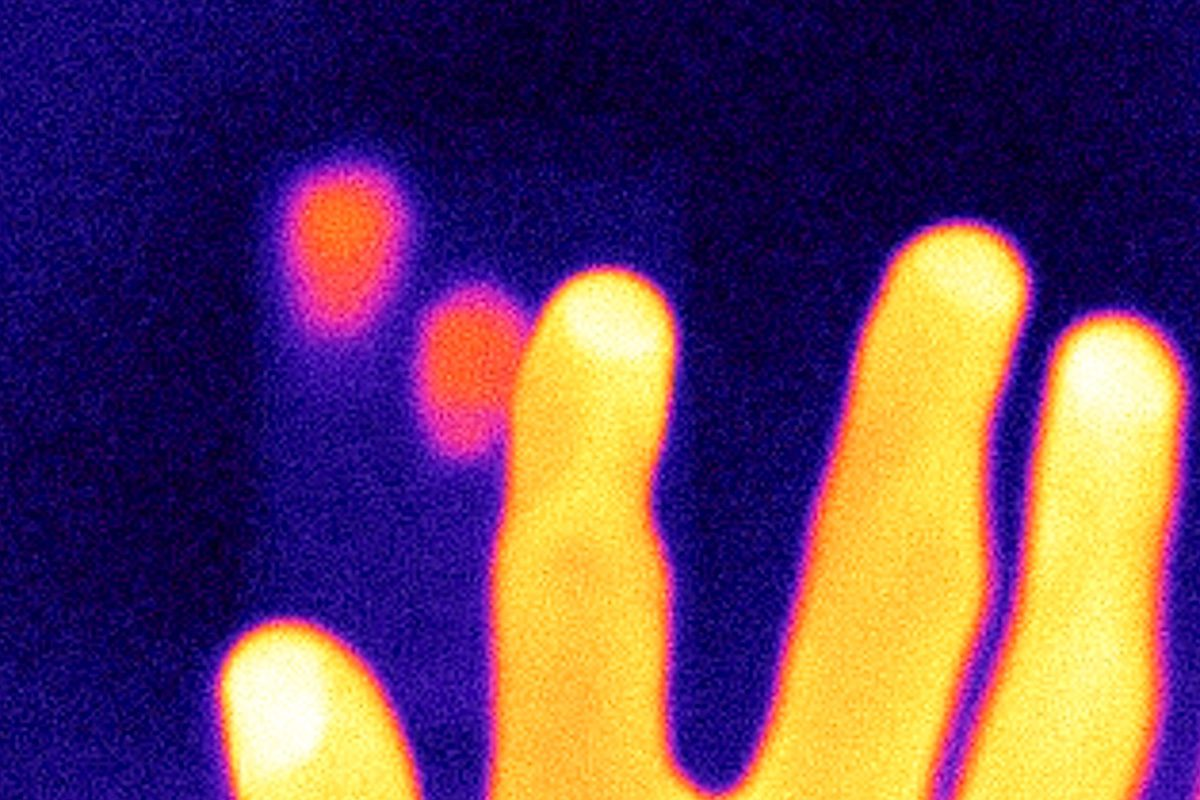 Thermal Imaging of Fingerprints — How to get your PIN from a Number Pad