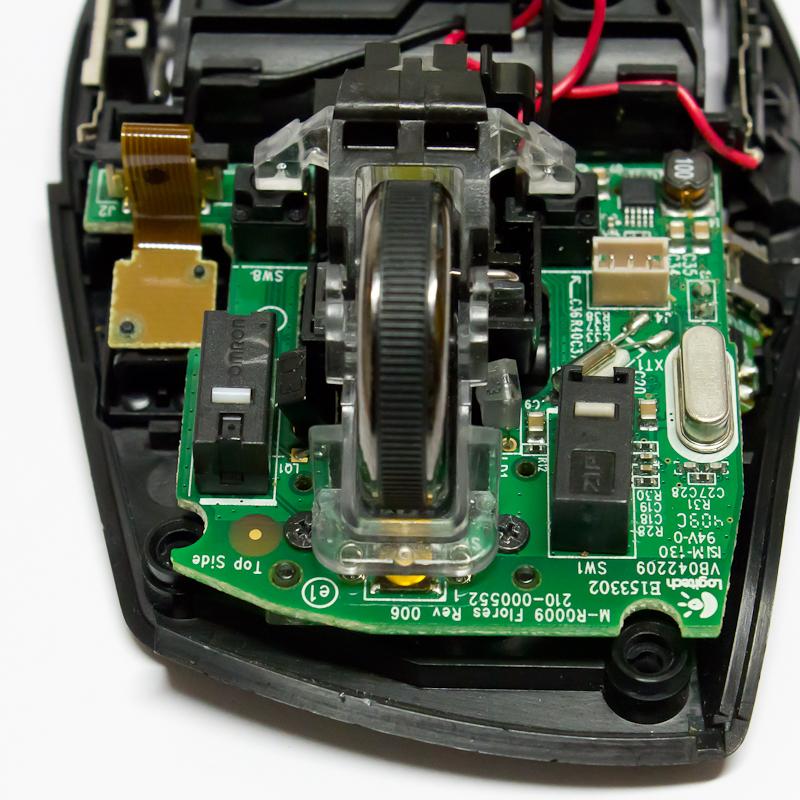 Logitech M705: How to fix a defective mouse button – Kai Christian Bader